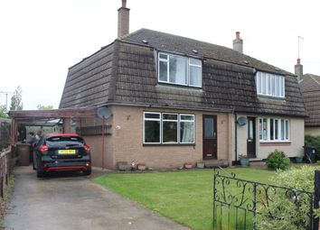 Thumbnail 3 bed semi-detached house for sale in 22 School Lane, Wilsford, Grantham, Lincolnshire