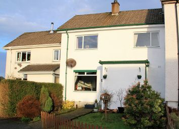 Thumbnail 2 bed terraced house for sale in Dewar Avenue, Lochgilphead