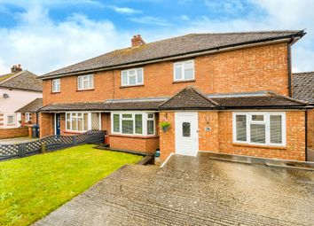 Thumbnail 4 bed semi-detached house for sale in Stanelow Crescent, Standon, Ware