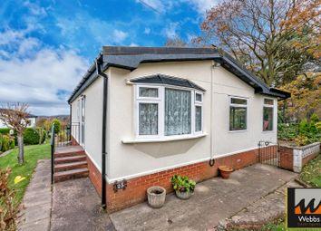 Thumbnail 2 bed mobile/park home for sale in Cavans Wood Park, Ling Road, Huntington, Cannock