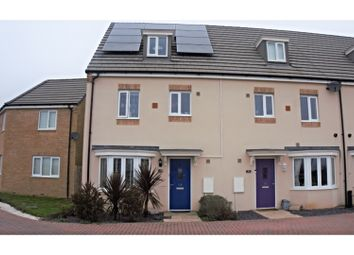 Thumbnail 4 bed end terrace house for sale in Hercules Way, Peterborough