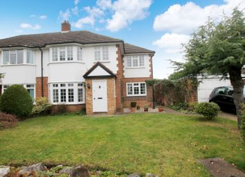 Thumbnail 4 bed semi-detached house to rent in Eden Close, New Haw, Addlestone