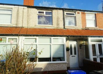 Thumbnail 3 bed terraced house for sale in Pickmere Avenue, Blackpool, Lancashire