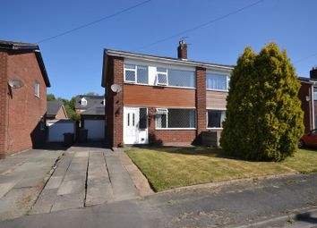 Thumbnail 3 bed semi-detached house for sale in Langdale Avenue, Croston, Leyland