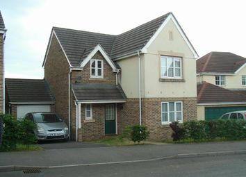 Thumbnail 4 bedroom detached house to rent in Balmoral Crescent, Okehampton