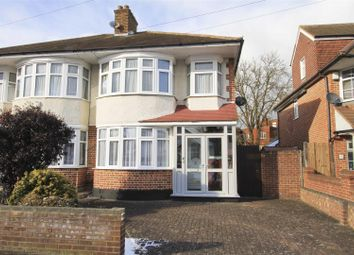 Thumbnail 3 bed semi-detached house for sale in Eversley Crescent, Ruislip Manor, Ruislip