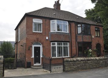 Thumbnail 3 bed semi-detached house for sale in Wakefield Road, Heyrod, Stalybridge