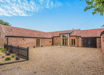 Thumbnail 3 bed barn conversion for sale in Church Road, Earsham, Bungay, Norfolk