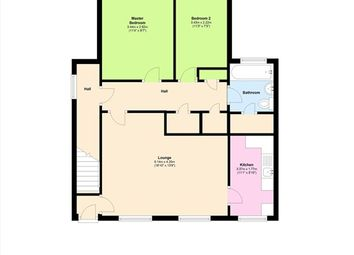 Thumbnail 2 bed flat for sale in Mendip Road, Leyland