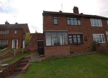 Thumbnail 2 bed semi-detached house for sale in Hazel Road, Kingswinford