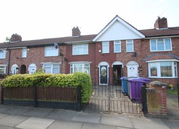 Thumbnail 3 bed terraced house to rent in Dwerryhouse Lane, West Derby, Liverpool