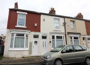 Thumbnail 2 bed end terrace house for sale in Kildare Street, Middlesbrough