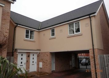 Thumbnail 2 bedroom flat to rent in Chapman Way, Eynesbury, St. Neots