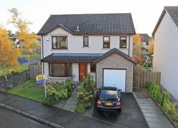 Thumbnail 4 bed detached house for sale in Inchbrakie Drive, Crieff