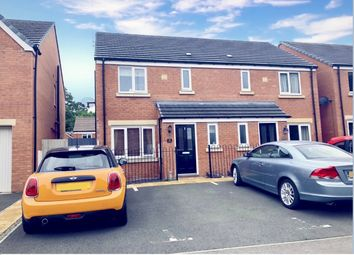 Thumbnail 3 bed semi-detached house for sale in Willow Way, Raunds, Wellingborough