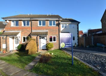 Thumbnail 2 bed terraced house to rent in Throgmorton Road, Yateley