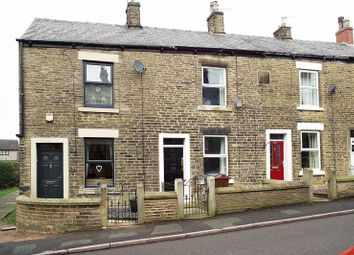 Thumbnail 2 bed terraced house to rent in Hadfield Road, Hadfield, Glossop