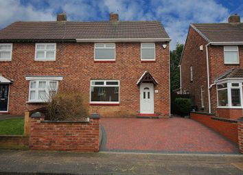 Thumbnail 3 bed semi-detached house for sale in Darwin Crescent, Kenton, Newcastle Upon Tyne