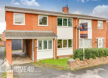 Thumbnail 4 bed semi-detached house for sale in Nant Derw, Mold