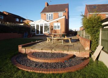 Thumbnail 3 bed detached house for sale in Stryt Las, Rhosllanerchrugog, Wrexham