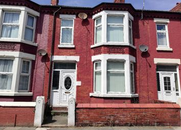 Thumbnail 3 bed terraced house to rent in Trafalgar Road, Wallasey