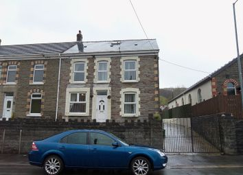 Thumbnail 3 bedroom end terrace house for sale in Main Road, Crynant, Neath