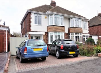 Thumbnail 3 bedroom semi-detached house for sale in Arnold Avenue, Coventry