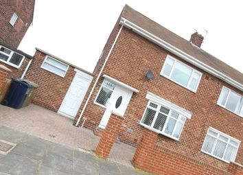 Thumbnail 2 bed semi-detached house for sale in Townsend Road, Thorney Close, Sunderland