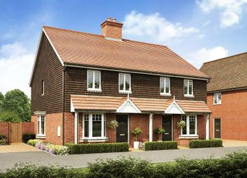 "Thumbnail 3 bed semi-detached house for sale in ""Oakfield"" at Broughton Crossing, Broughton, Aylesbury"