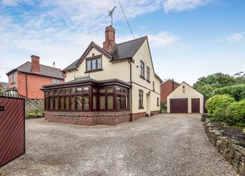 Thumbnail 4 bed detached house for sale in Cheadle Road, Uttoxeter