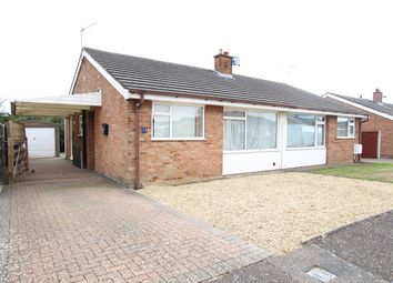 Thumbnail 2 bedroom semi-detached bungalow for sale in Lacon Road, Bramford, Ipswich, Suffolk