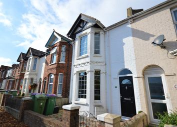Thumbnail 3 bed terraced house for sale in Royal Military Avenue, Cheriton, Folkestone