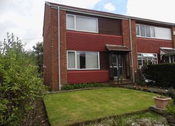Thumbnail 2 bed end terrace house for sale in Glenbrittle Drive, Paisley