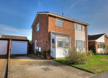Thumbnail 3 bed detached house for sale in Atling Close, Attleborough