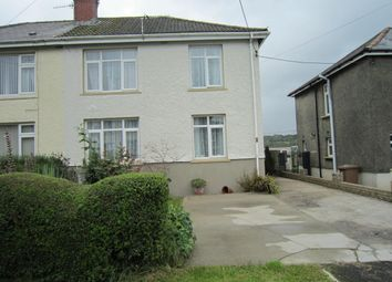 Thumbnail 3 bed semi-detached house for sale in The Drive, Gilfach
