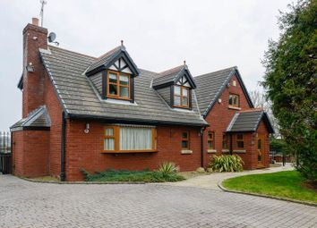 Thumbnail 4 bed detached house for sale in Pygons Hill Lane, Lydiate, Liverpool