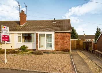 Thumbnail 2 bed semi-detached bungalow for sale in Dart Close, Oadby, Leicester