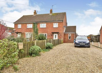 Thumbnail 3 bed semi-detached house for sale in Stocks Close, Great Bircham, King's Lynn