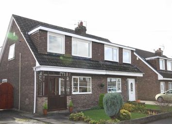 Thumbnail 3 bed semi-detached house for sale in Harrock Road, Leyland