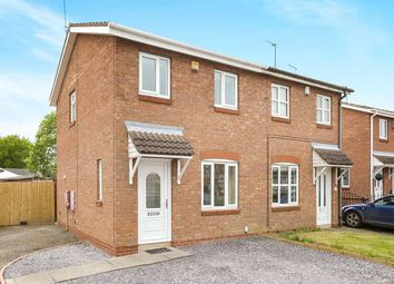 Thumbnail 2 bedroom semi-detached house for sale in Gibson Road, Perton, Wolverhampton