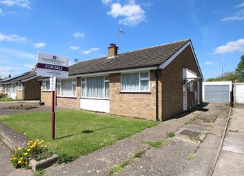 Thumbnail 2 bedroom semi-detached bungalow for sale in Springfield Road, Lower Somersham, Ipswich