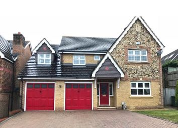 Thumbnail 5 bed detached house to rent in Knaphill, Woking
