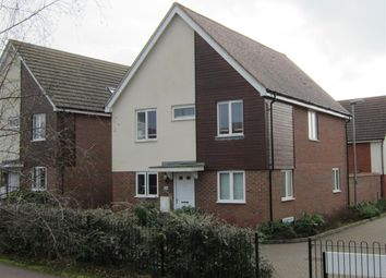 Thumbnail 4 bedroom detached house for sale in Watercress Way, Broughton Gate, Milton Keynes