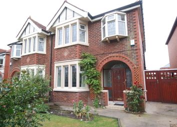 Thumbnail 3 bedroom semi-detached house for sale in Harrington Avenue, Blackpool