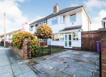 Thumbnail 3 bed semi-detached house for sale in North Barcombe Road, Liverpool