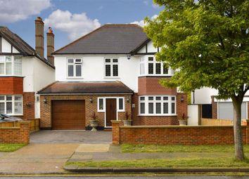 Thumbnail 4 bedroom detached house for sale in Cuddington Avenue, Worcester Park, Surrey