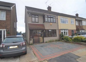 Thumbnail 3 bed end terrace house for sale in Grays End Close, Grays, Essex
