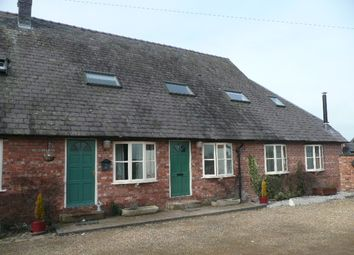 Thumbnail 2 bedroom barn conversion to rent in Stoke Grange Farm, Chester Road, Nantwich
