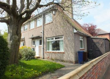 Thumbnail 3 bed semi-detached house for sale in Beadling Gardens, Fenham, Newcastle Upon Tyne