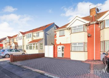 Thumbnail 3 bed semi-detached house for sale in Berwick Avenue, Hayes